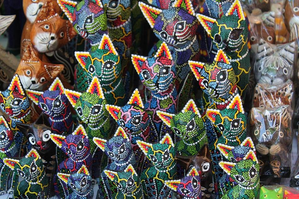 Feast Of Colors At Ubud Market What An Amazing World