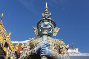 One of The Guardian Statues at Wat Phra Kaew