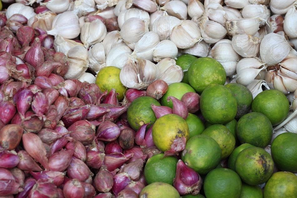 Garlic, Shallot and Lime