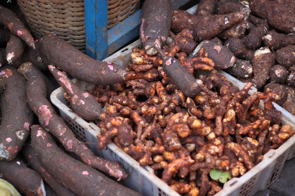 Cassava and Turmeric