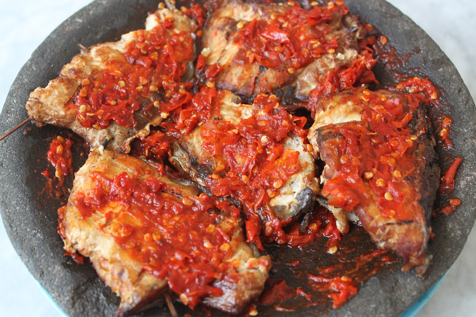 Smoked Ray with Red Chili