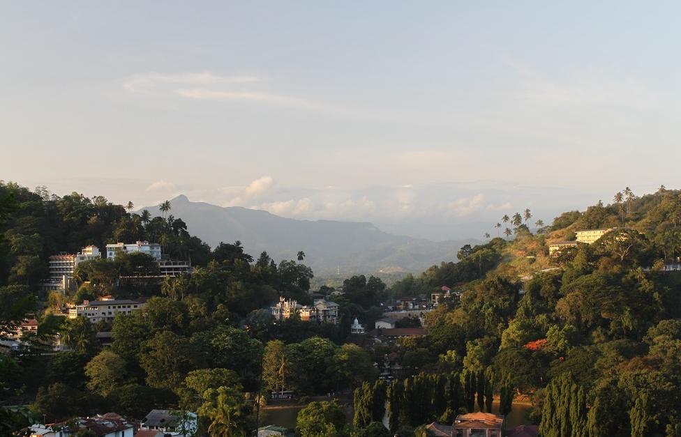 Heading to Kandy