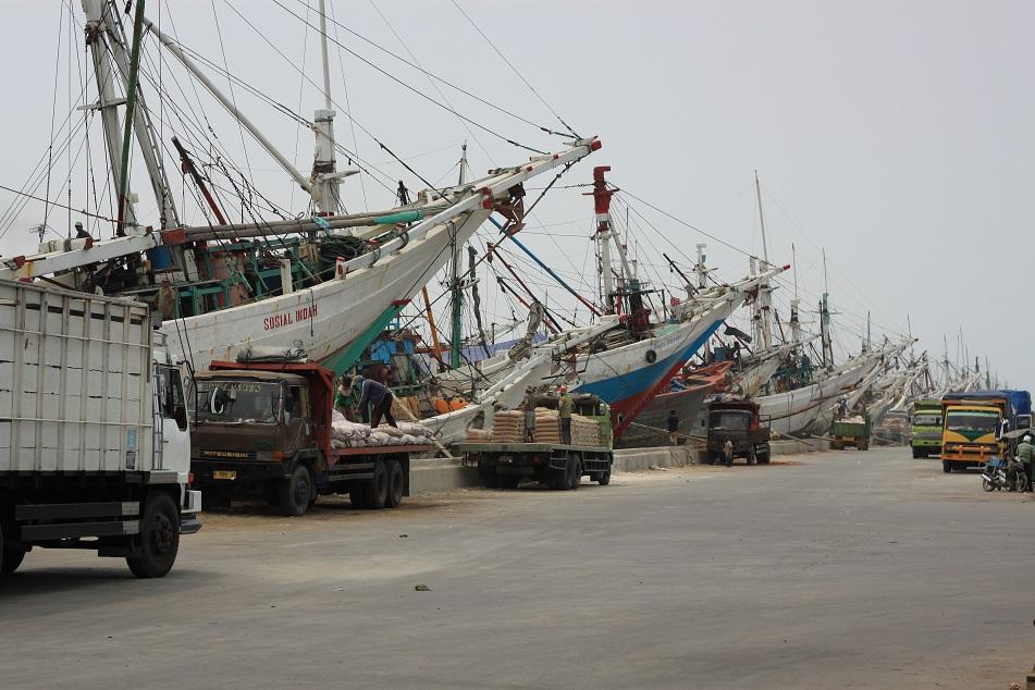 Pinisi Boats at Sunda Kelapa