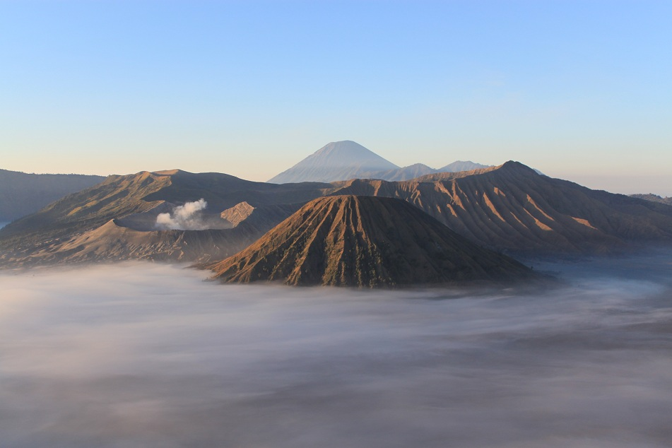 Sunrise at Bromo-Tengger-Semeru National Park