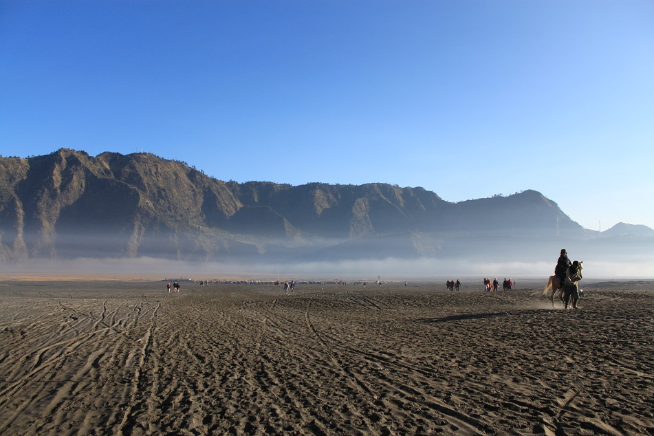 Surreal View of the Caldera