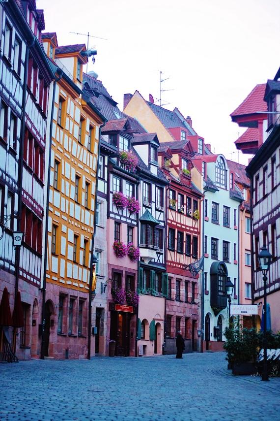 Shops in Nuremberg's Altstadt