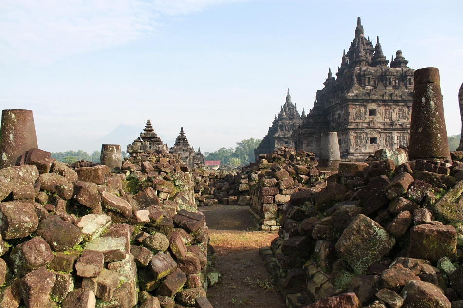 The Ruins around the Temples