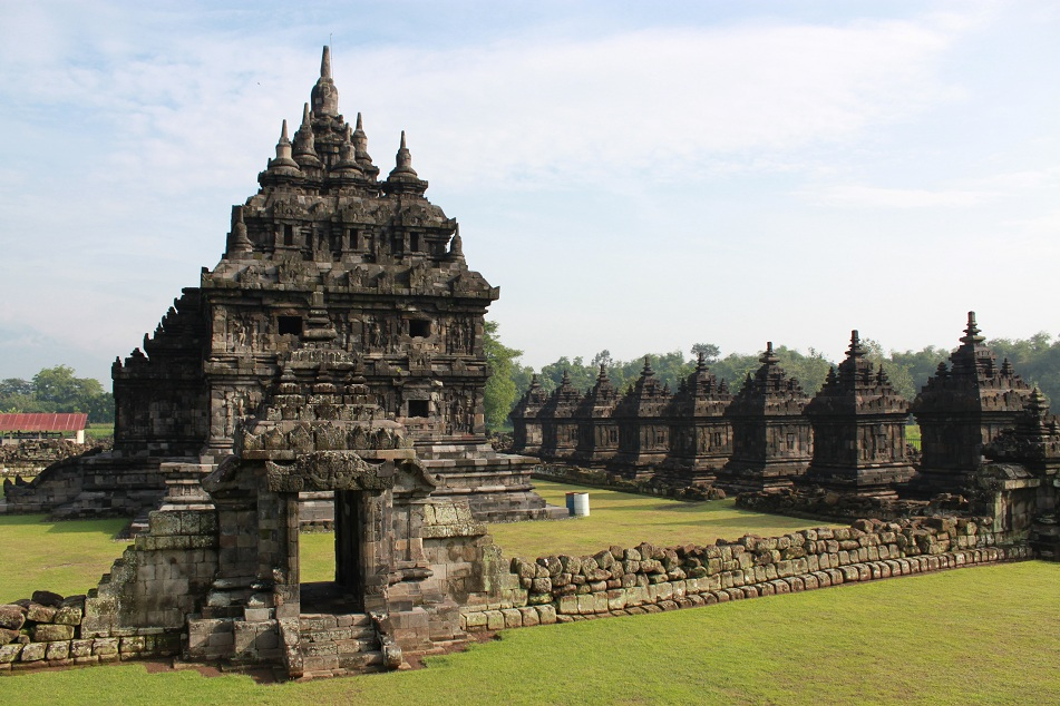 One of the Twin Temples with Smaller Temples
