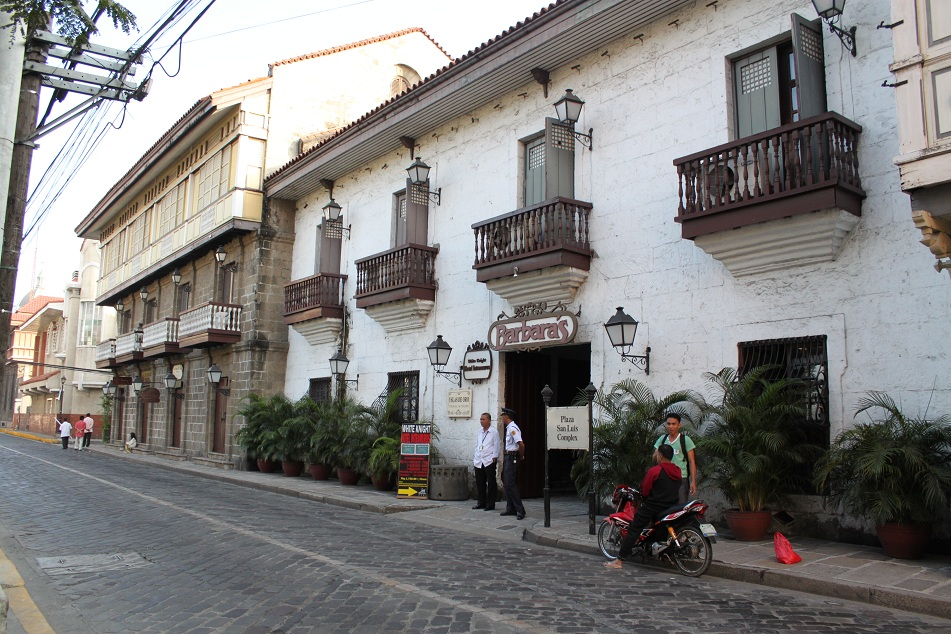 A Spanish-Influenced Building