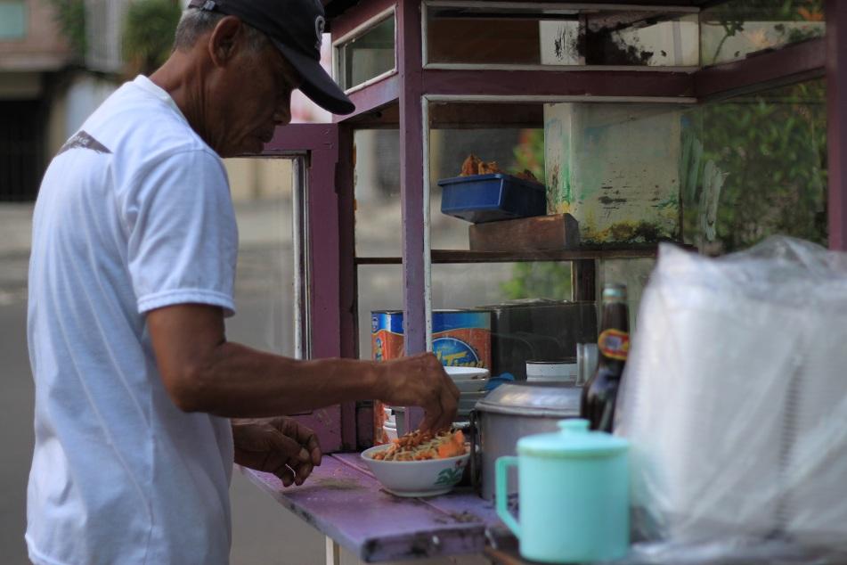 Chicken Congee Vendor
