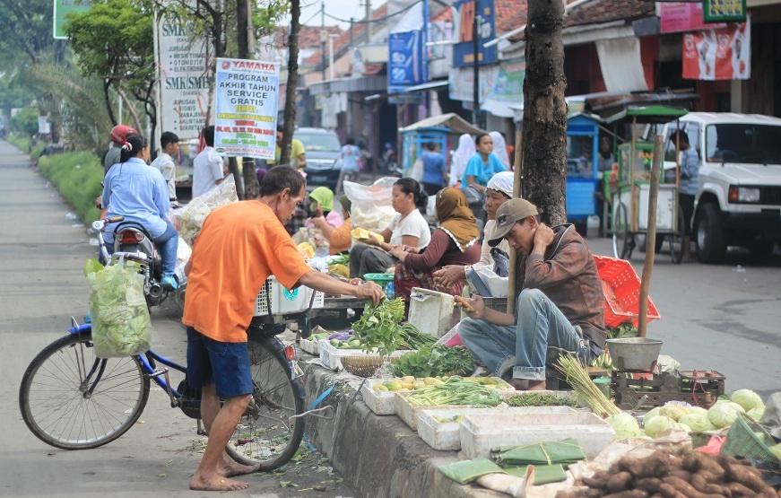 A Morning Market Scene