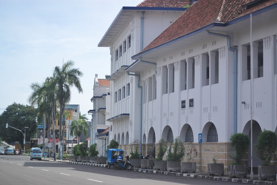 Dutch-Style British American Tobacco's Office in Cirebon