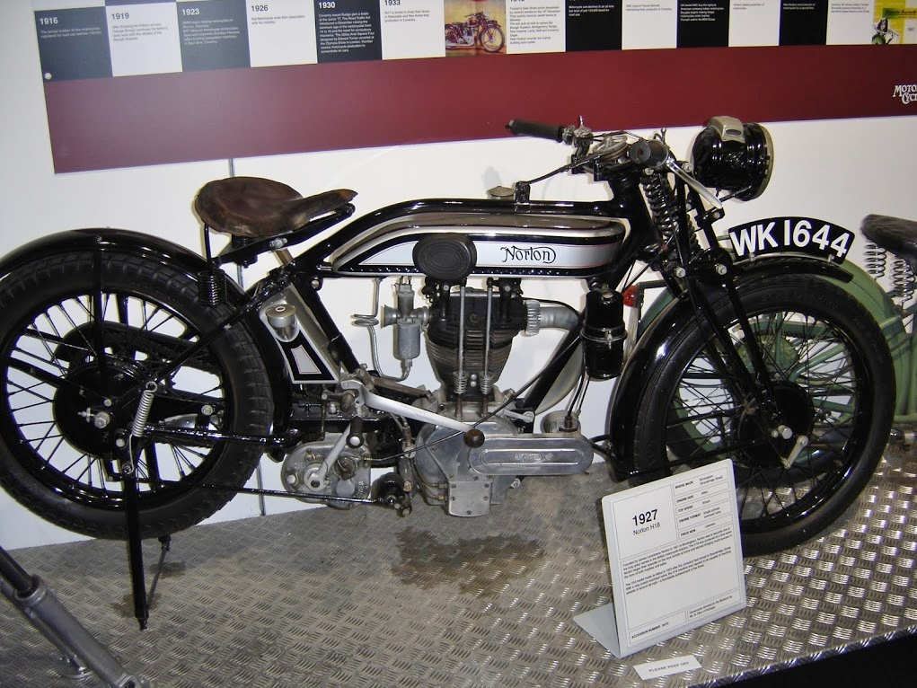 A 1927 Norton Motorcycle