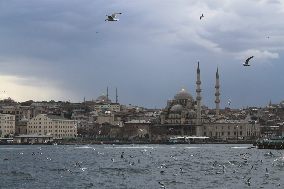 Eminönü Neighborhood across Beyoğlu
