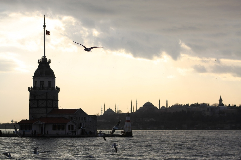 Maiden's Tower Sitting between Asia and Europe