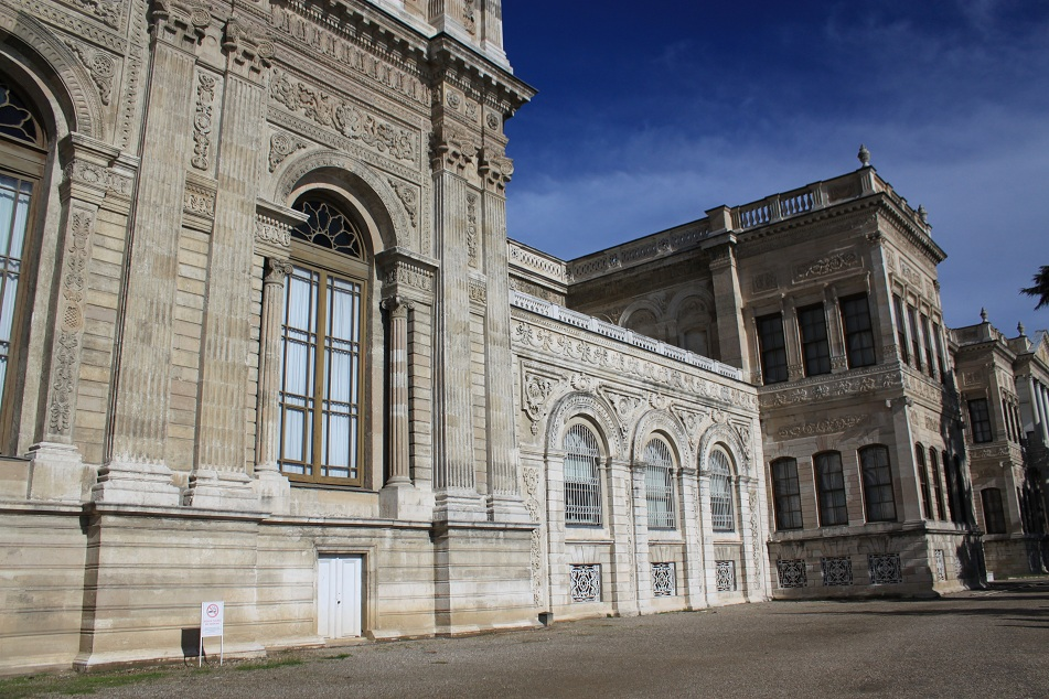 Side View of the Palace