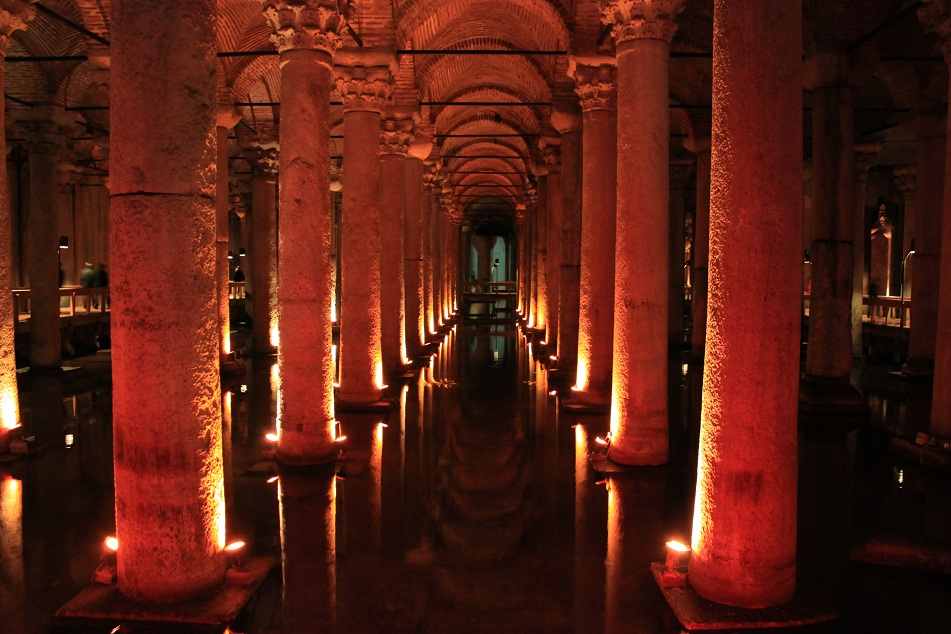 The Columns of Basilica Cistern