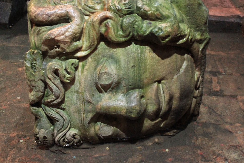 One of Two Heads of Medusa