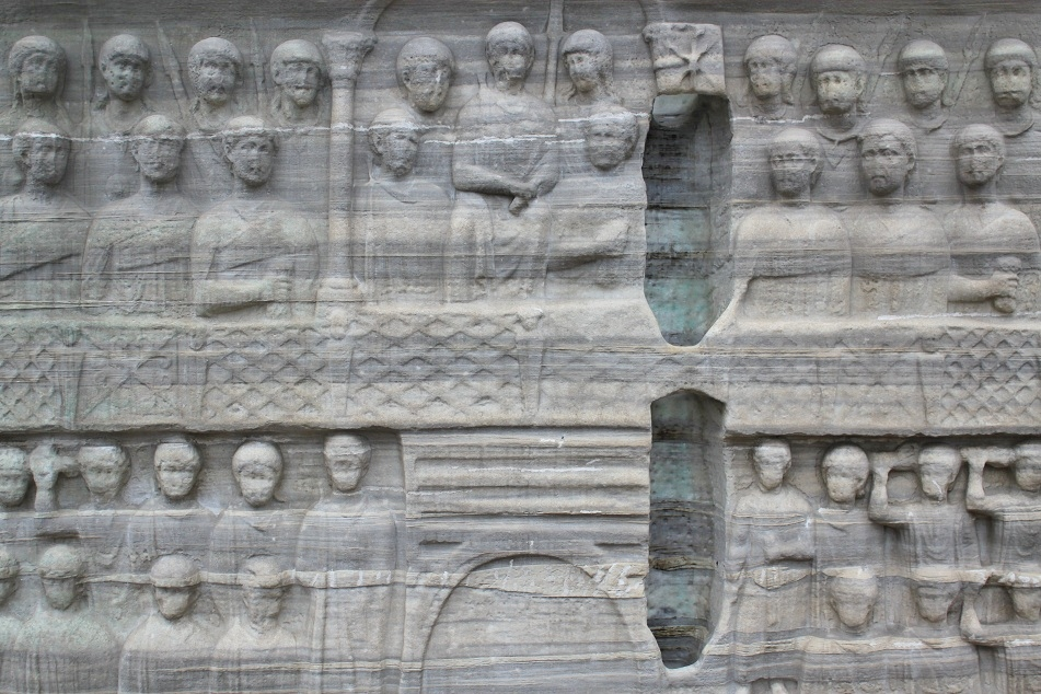 Details of the Pedestal of the Obelisk of Tuthmosis III