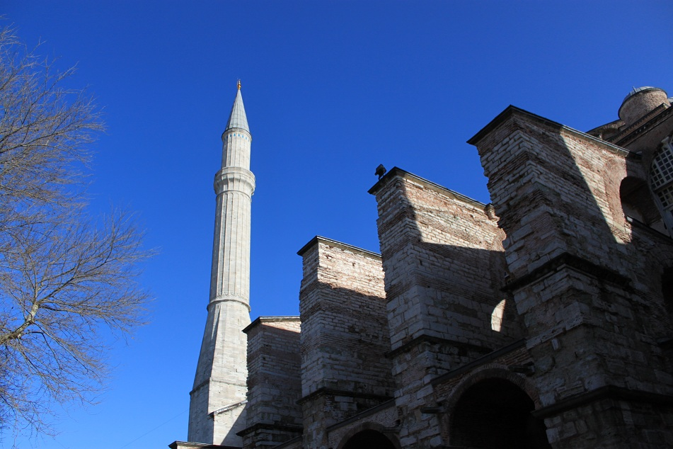 One of the Minarets Added by the Ottomans