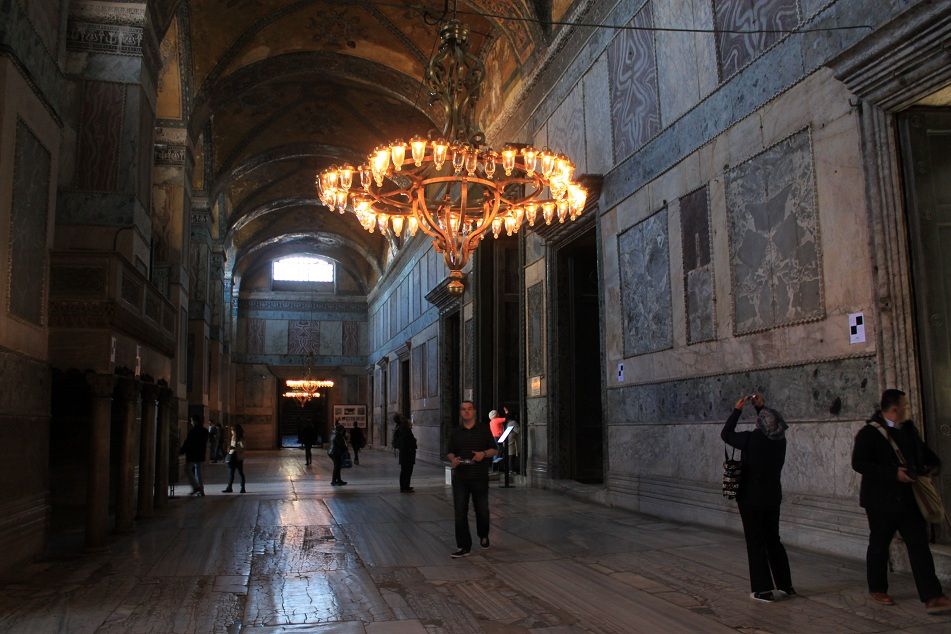 Hagia Sophia, the Inner Narthex