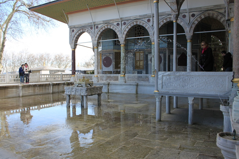 A Pool on the Marble Terrace