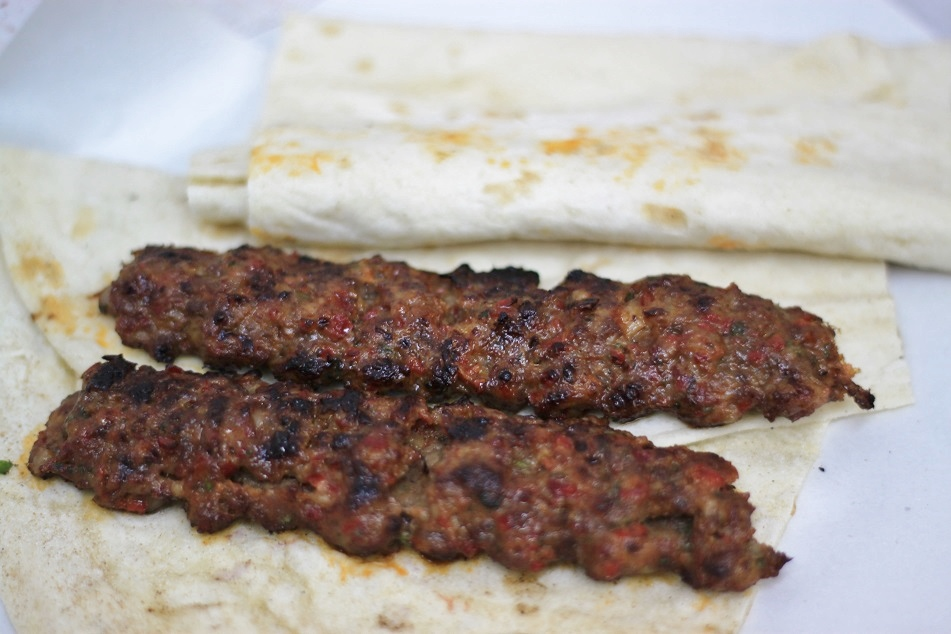 The Best Mutton Shish Kebab in Town at Derman, the Grand Bazaar