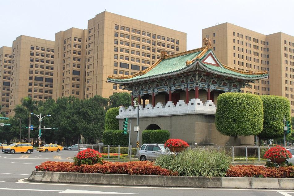 Jingfu Gate, One of Taipei's Five Historic Gates