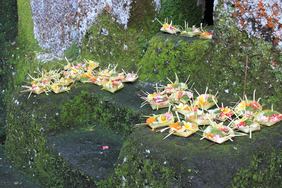 Canang Sari, the Offerings for the Gods and the Spirits