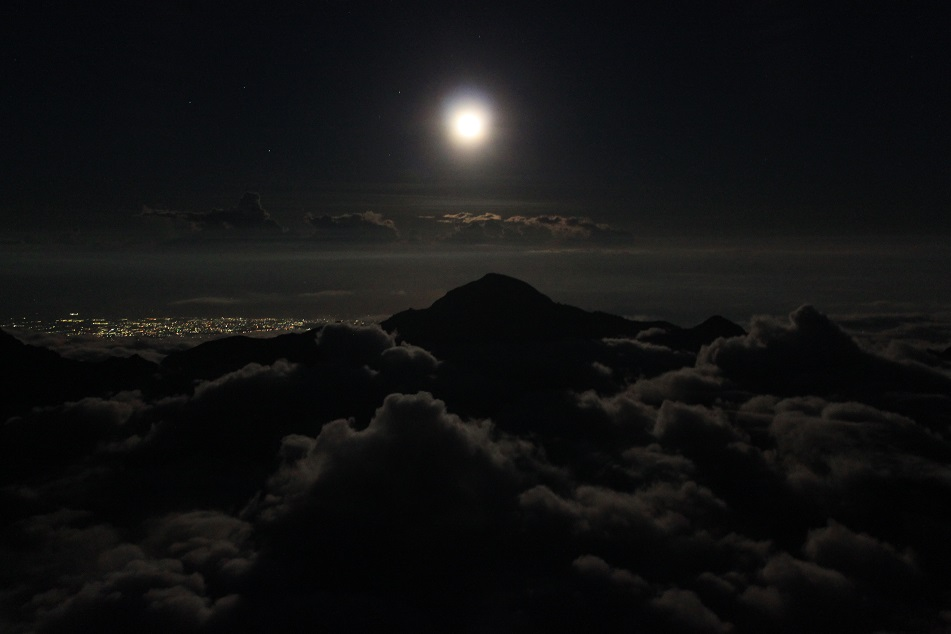 Full Moon over the Mountain