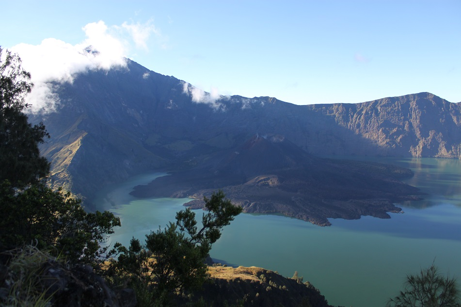 The Breathtaking View of Rinjani