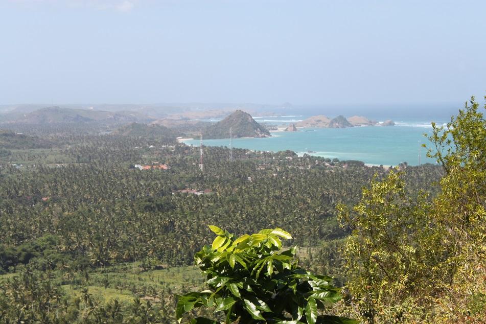 Overlooking Kuta Lombok