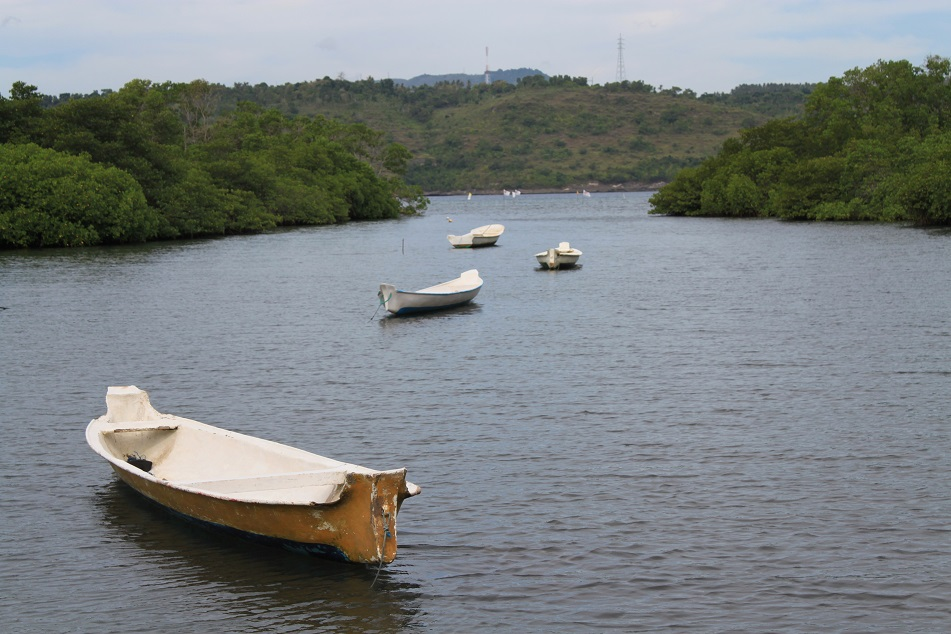 Empty Boats at an Inlet
