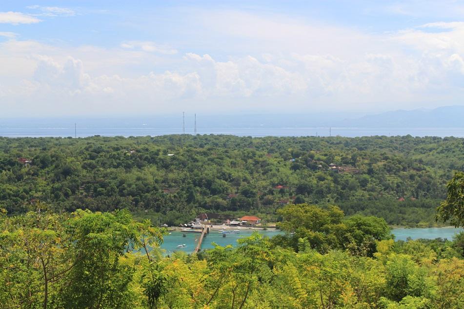 Nusa Lembongan Viewed from Nusa Ceningan