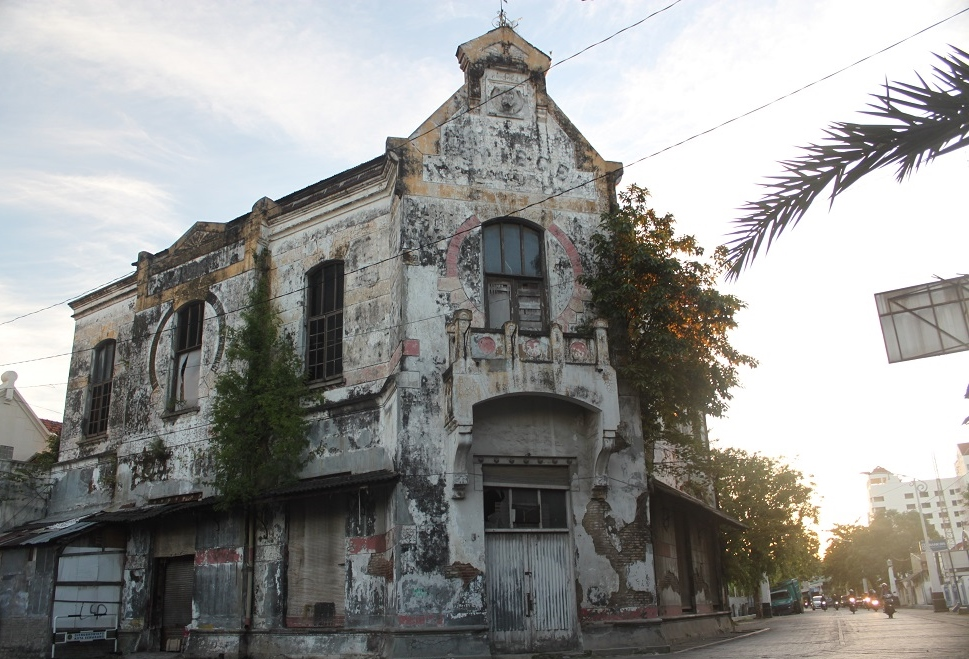 A Dilapidated Old Building