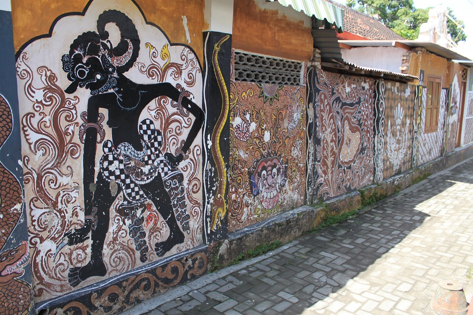 The Ornate Alleys of Kampung Taman