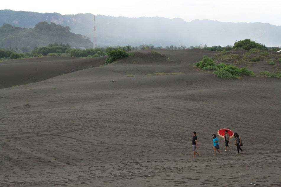 The Sand Dunes in Southern Jogja