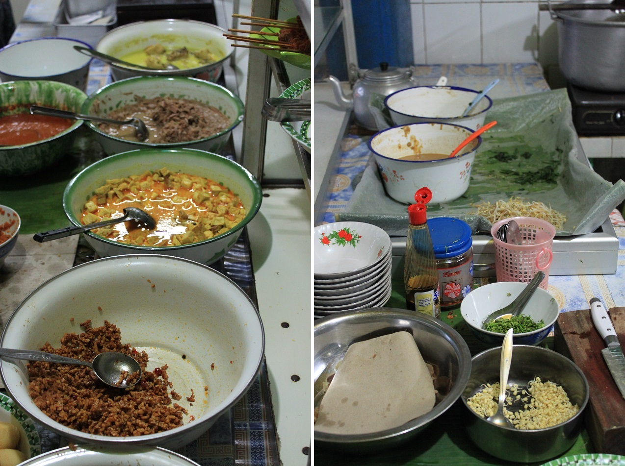The Ingredients of Pecel Kawi