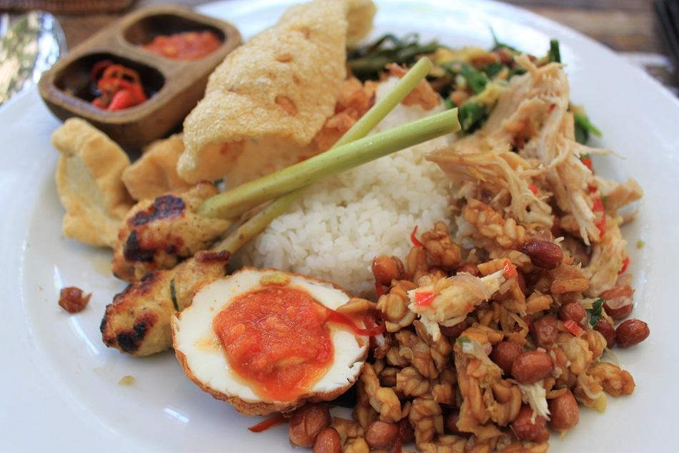 Balinese Nasi Campur