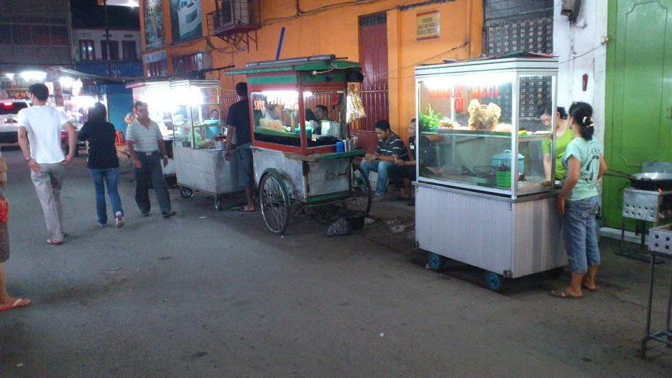Food Carts at Night
