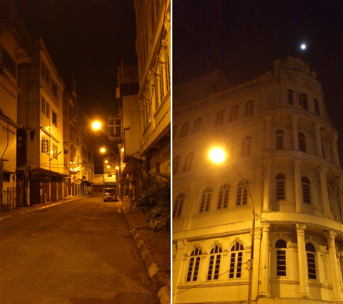 Deserted Streets at Kesawan, Medan