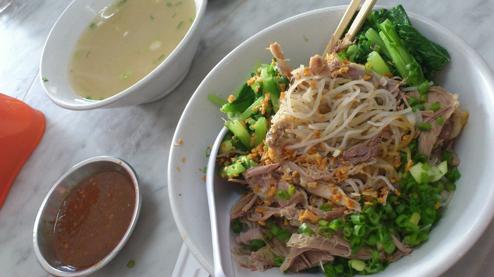 Bihun (Rice Vermicelli) with Shredded Duck