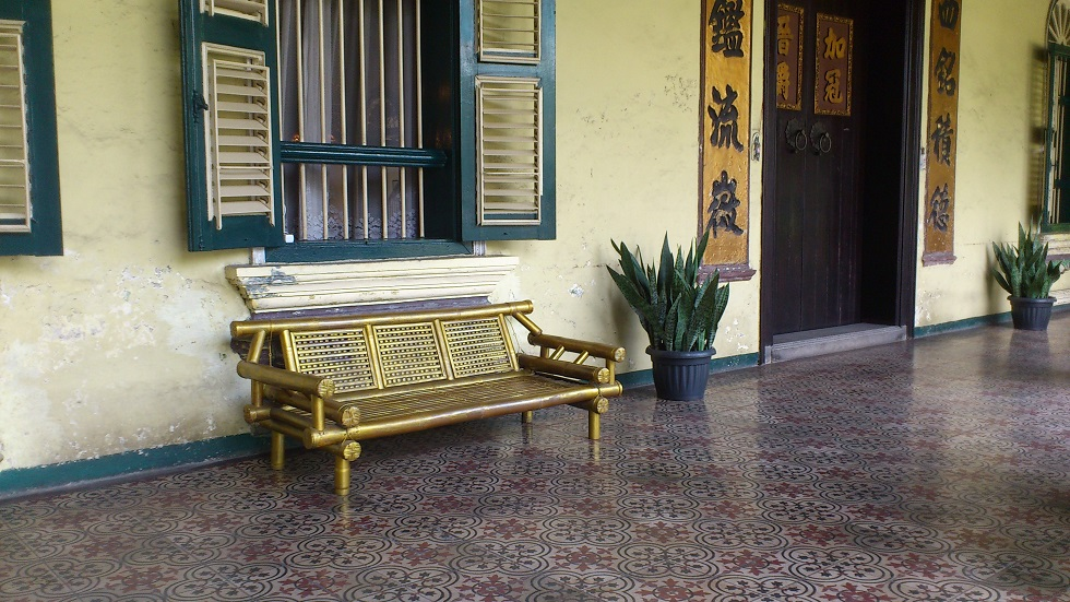 Tjong A Fie Mansion, the Terrace