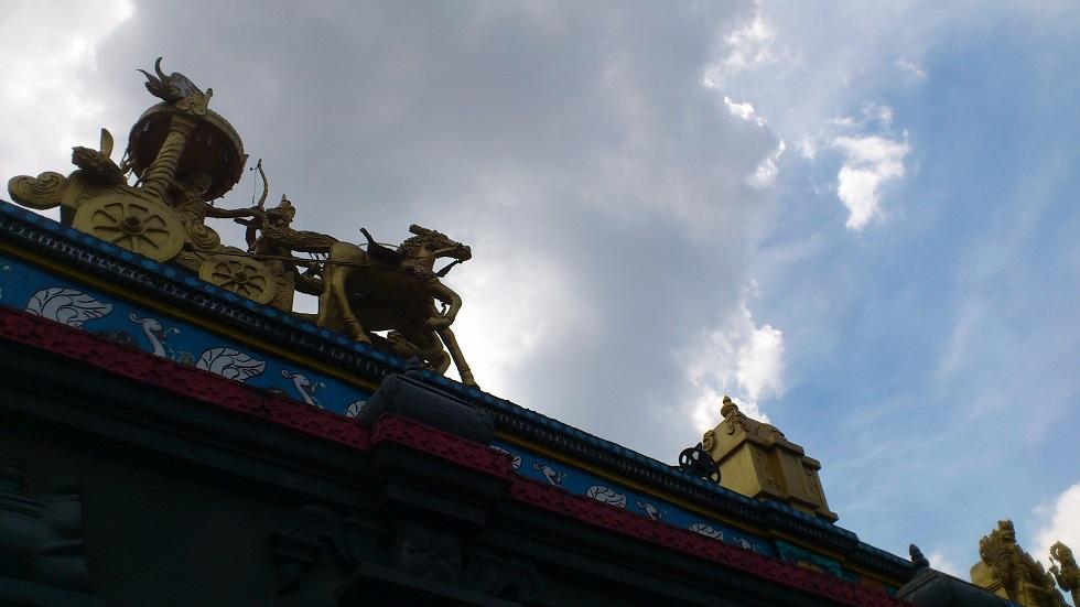 A Tamil Hindu Temple