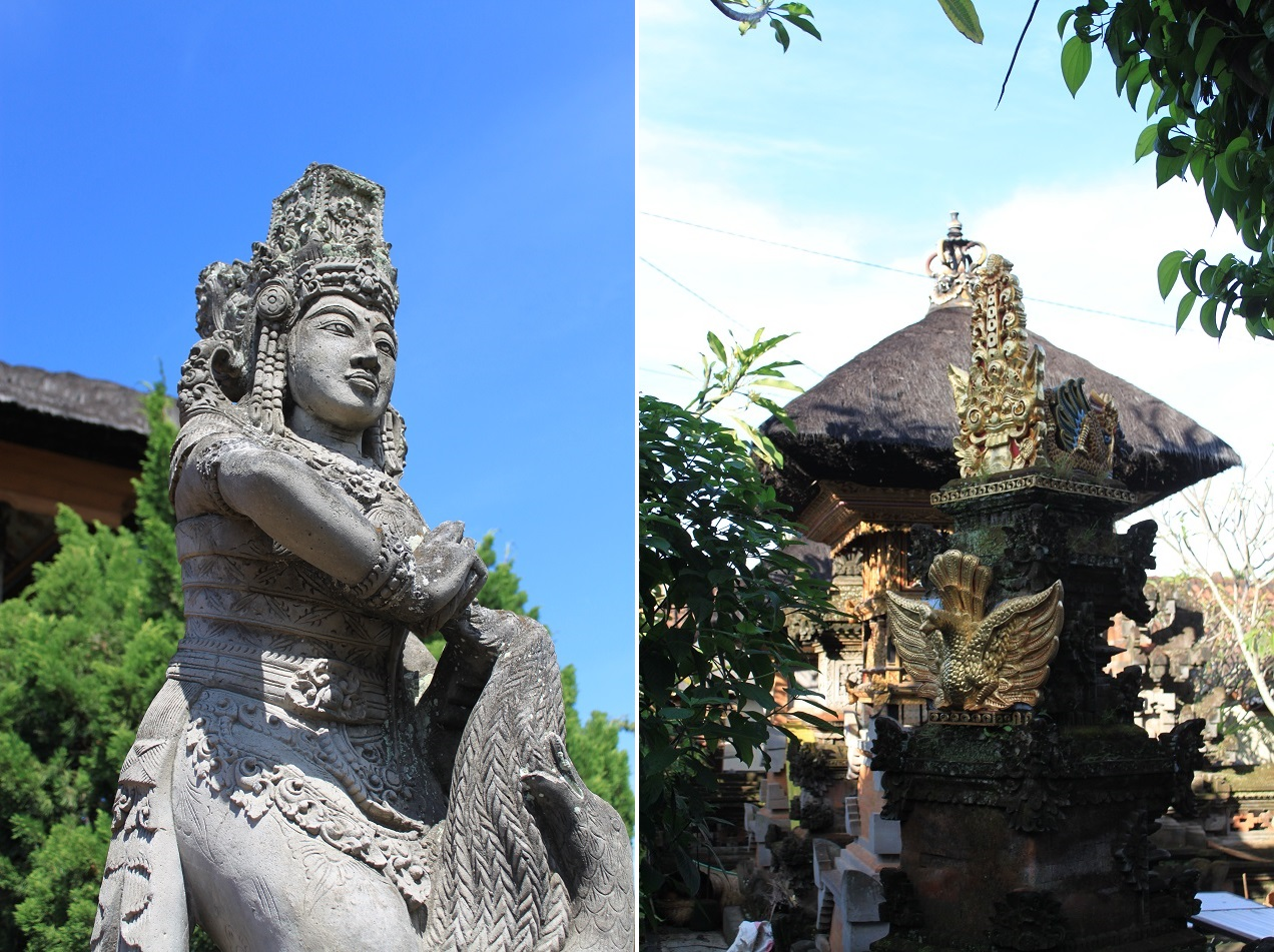 Bali, Where Statues and Carvings Abound