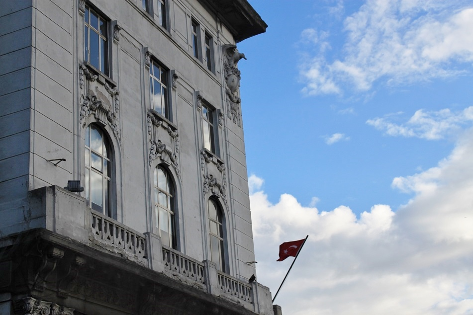 A Bank Office, Beyoğlu