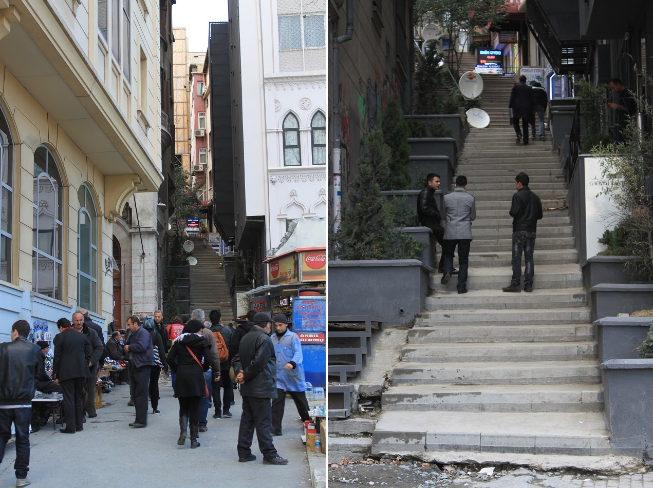 Walking Up the Neighborhood, Beyoğlu