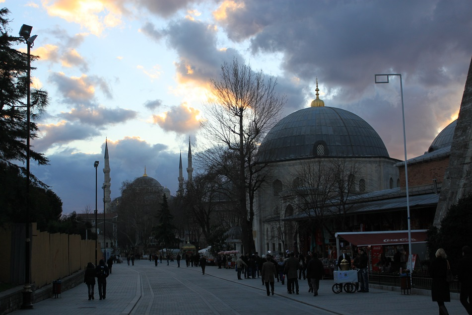 Sunset at Sultanahmet