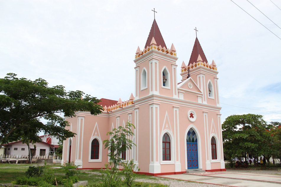 A Church in Laleia, the Town where Xanana Gusmão was Born