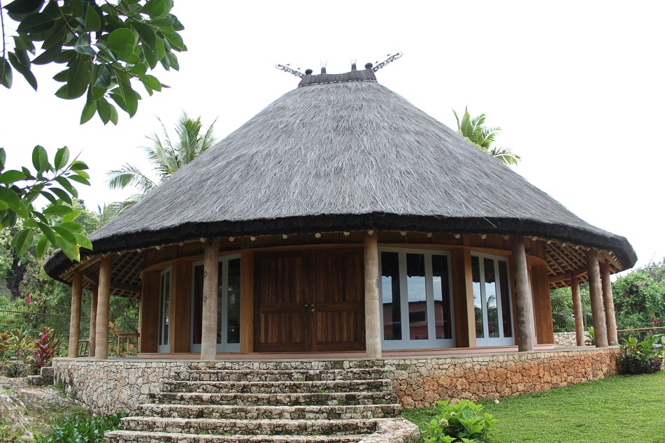 A Modern Building Modeled After East Timorese House